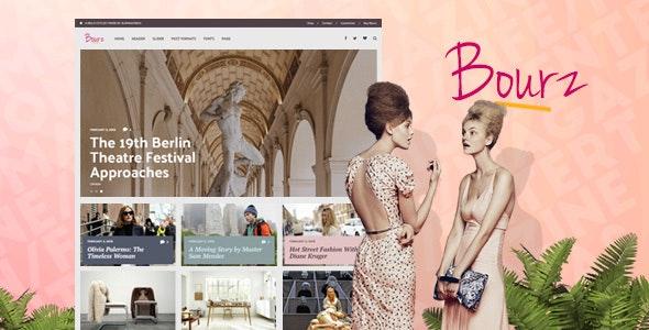 Bourz v7.0.2 – Life, Entertainment & Fashion Blog Theme