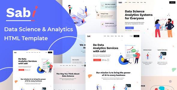 Sabi - Digital Data Science HTML Template