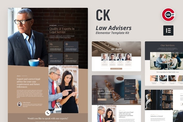 CK - Lawyer Template Kit - Template Kits