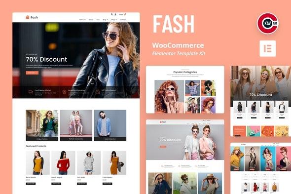 Fash - WooCommerce Elementor Template Kit - Shopping & eCommerce Elementor
