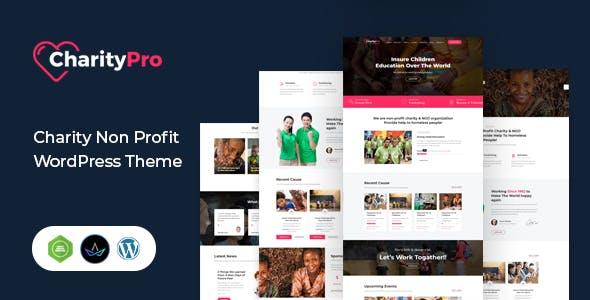 Charity Pro - Fundraising WordPress Theme