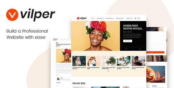 Vilper - Blog and Magazine HubSpot Theme - HubSpot CMS Hub CMS Themes