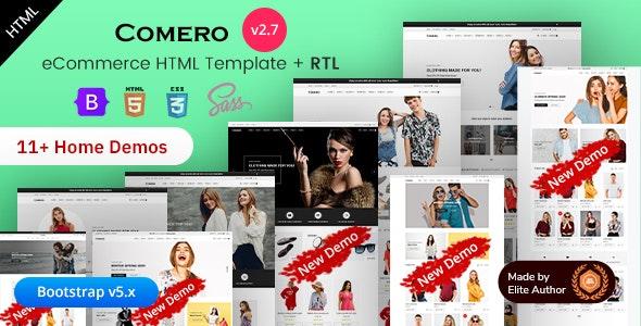 Comero - Responsive eCommerce HTML Template - Retail Site Templates