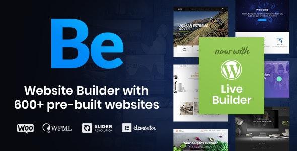 Betheme v24.0 – Responsive Multipurpose WordPress Theme NULLED