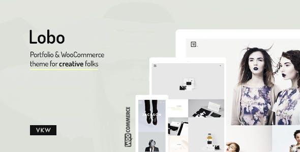 Lobo - WordPress Portfolio for Freelancers & Agencies