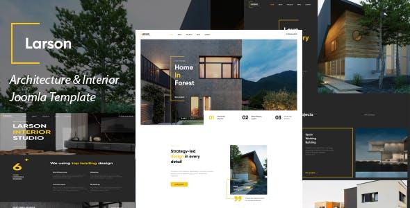 Larson - Architecture & Interior Joomla Template