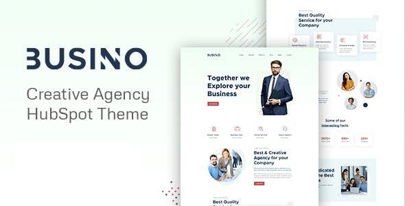 Busino - Creative Agency HubSpot theme