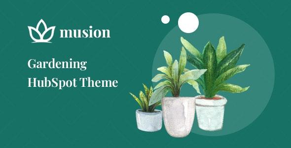 Musion – Gardening HubSpot Theme - Retail HubSpot CMS Hub