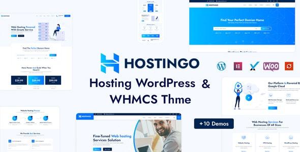 Hostingo - Hosting WordPress & WHMCS Theme - Hosting Technology