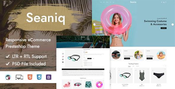 Seaniq - Responsive Prestashop Theme - PrestaShop eCommerce