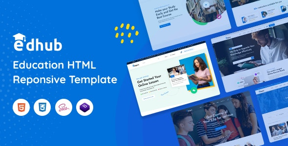 Edhub - Education HTML Template - Business Corporate