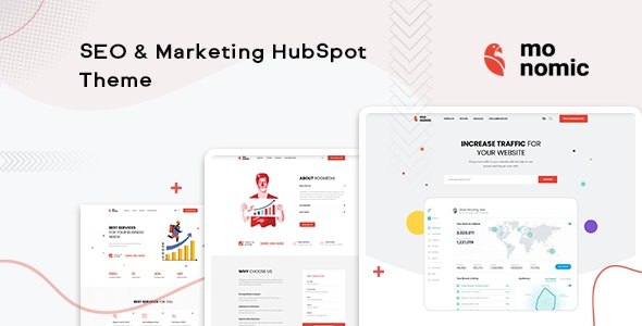 Monomic - SEO & Marketing HubSpot Theme - Corporate HubSpot CMS Hub