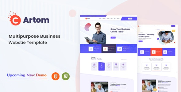Artom - Technology & knowledge base HTML Template - Miscellaneous Specialty Pages