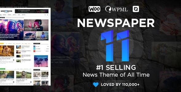 Newspaper - News & WooCommerce WordPress Theme