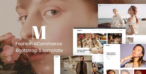 Moren - Fashion Store HTML Template using Bootstrap 5