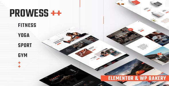 Prowess v2.0 – Fitness and Gym WordPress Theme