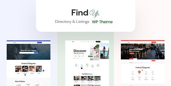 Findup - Directory & Listing WordPress Theme