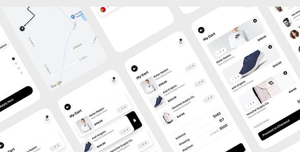 Rika - eCommerce Mobile App UI Kit For Figma