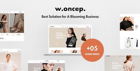 W.oncep - Unisex Fashion & Clothing Shopify Theme - Shopify eCommerce