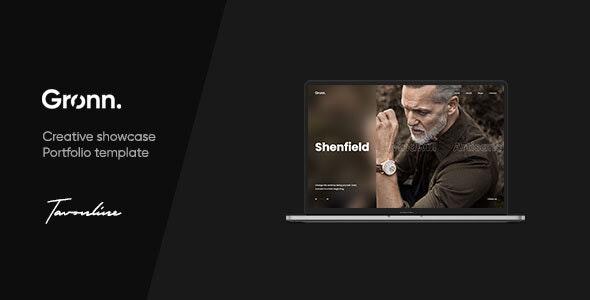 Gronn - Showcase Portfolio Template - Portfolio Creative
