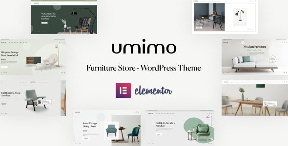 Umimo - Furniture Store WordPress Theme - WooCommerce eCommerce