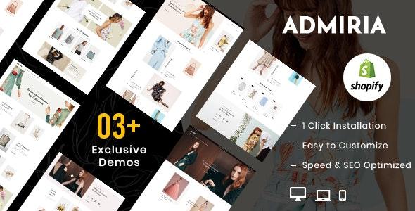 Admiria – Fashion Shopify MultiPurpose Responsive Theme - Fashion Shopify