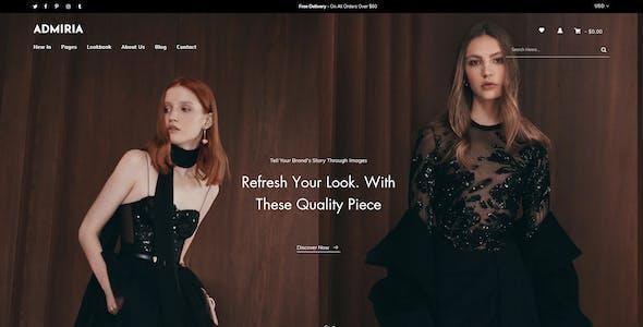Admiria – Fashion Shopify MultiPurpose Responsive Theme