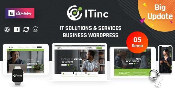 ITInc - Technology & IT Solutions WordPress Theme