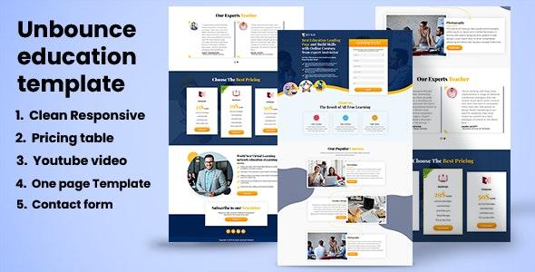 EDUSO - Education Landing page - Unbounce Landing Pages Marketing