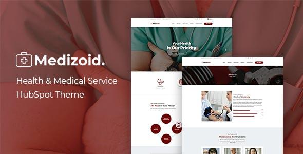 Medizoid - Health Care HubSpot Theme