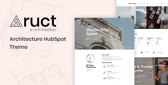 Aruct - Architecture HubSpot Theme