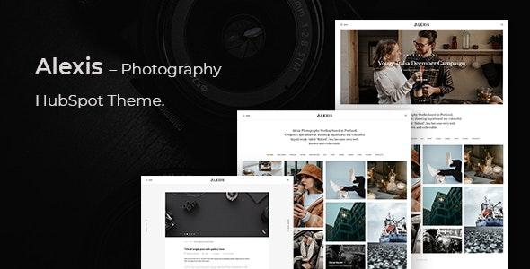 Alexis – Photography Hubspot Theme - Creative HubSpot CMS Hub