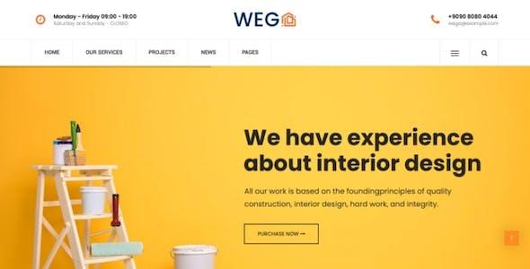 Wega - Construction WordPress Theme