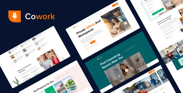 Cowork- Best Co-working space Finder UI Template