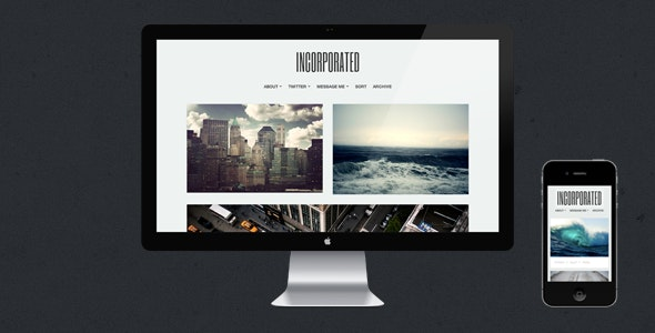 Incorporated - Tumblr Theme - Blog Tumblr