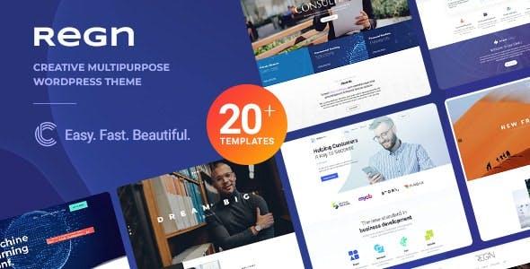 Regn   Multi-Purpose WordPress Theme