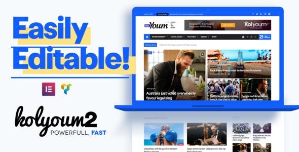 Kolyoum - Newspaper Magazine News BuddyPress AMP - News / Editorial Blog / Magazine