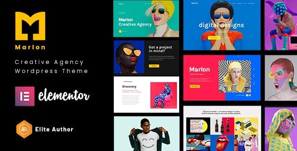 Marlon - Agency & Portfolio WordPress Theme - Creative WordPress