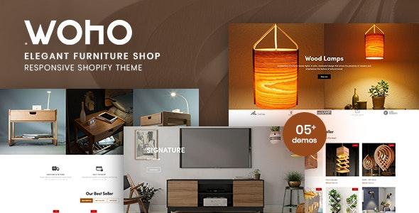 Woho v1.0 – Elegant Furniture Shop For Shopify