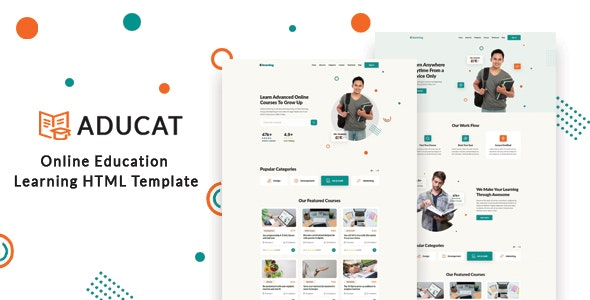 Aducat – Online Education Learning HTML Template - Business Corporate