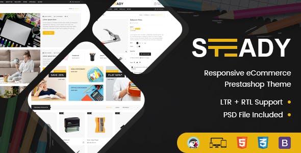 Steady - Stationary Prestashop Theme