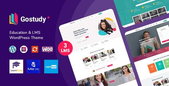 Gostudy - Education WordPress Theme - Education WordPress