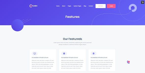 Conzex - Cloud, Saas & Startup HubSpot Theme