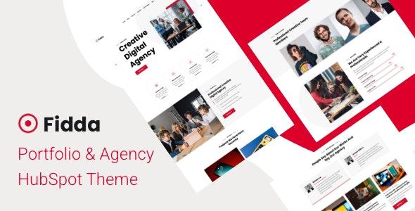 Fidda - Portfolio & Agency HubSpot Theme - Creative HubSpot CMS Hub