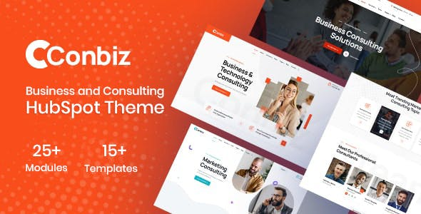 Conbiz - Consulting Business & Agency HubSpot Theme