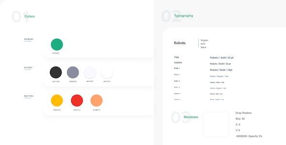 Worka – Handyman Services Adobe XD Template