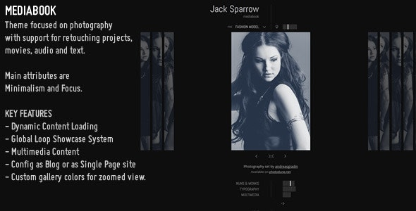 MediaBook - Multimedia Wordpress Theme - Portfolio Creative