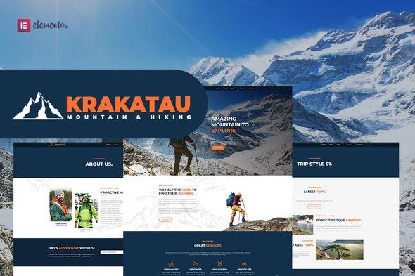 Krakatau - Mountain & Hiking Elementor Template Kit - Sport & Fitness Elementor