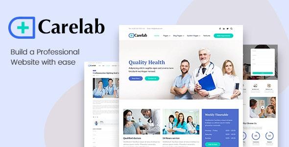 Carelab - Medical HubSpot Theme - HubSpot CMS Hub CMS Themes