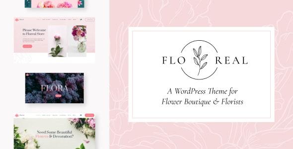 Floreal - Florist and Flower Shop Theme - Retail WordPress